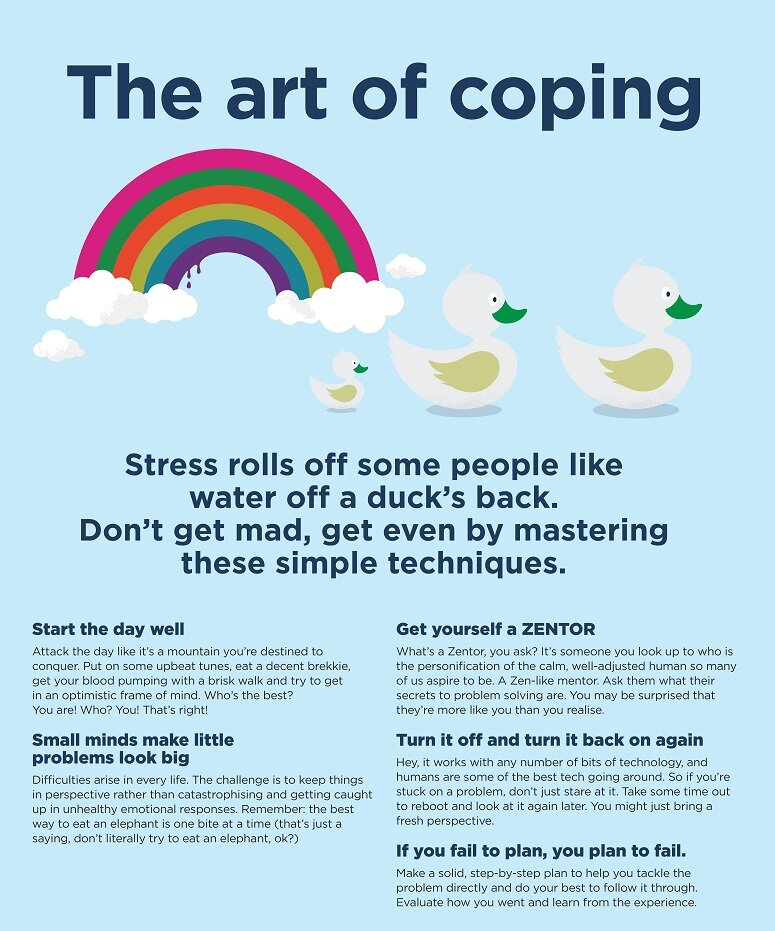Master the art of coping » Bupa Healthier Workplaces